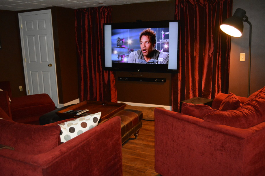 Basement Theater Room In Your Basement