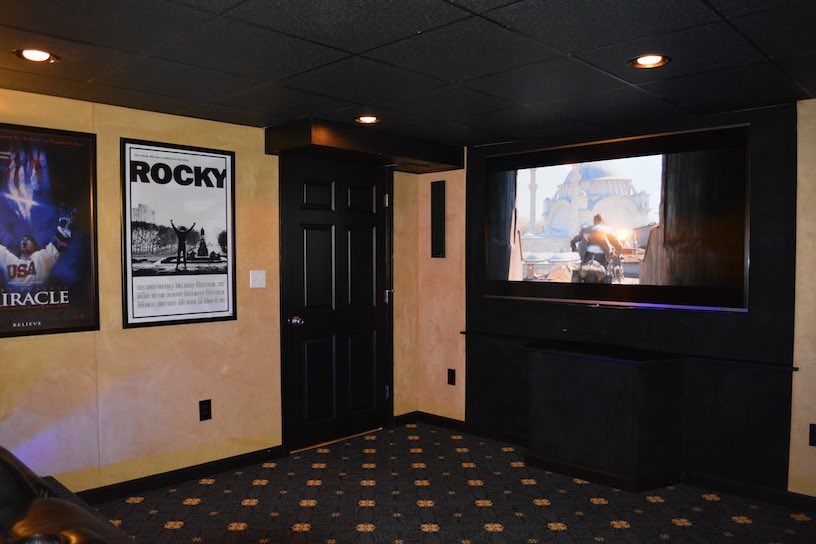 Basement Remodeling Bridgewater Ma. Movie Room
