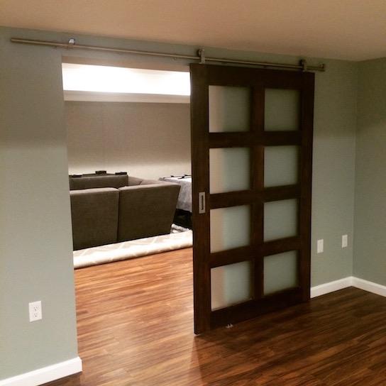 Basement home theater movie room ideas boston ma south shore kaks basement finishing - Refinishing basement ideas ...