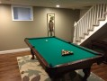 Basement Finish Rec Room Newton